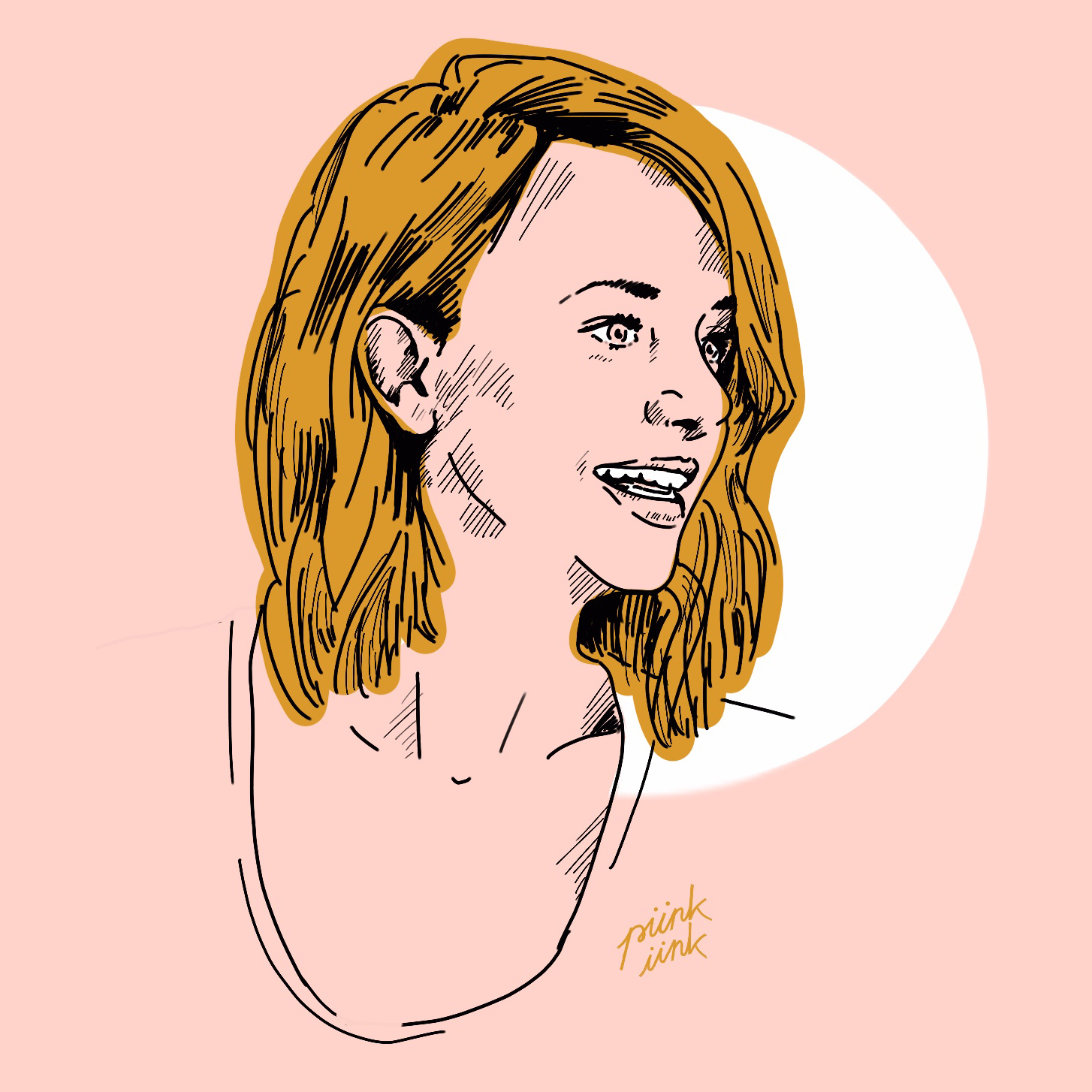 Jenny Boehme Profile Illustration