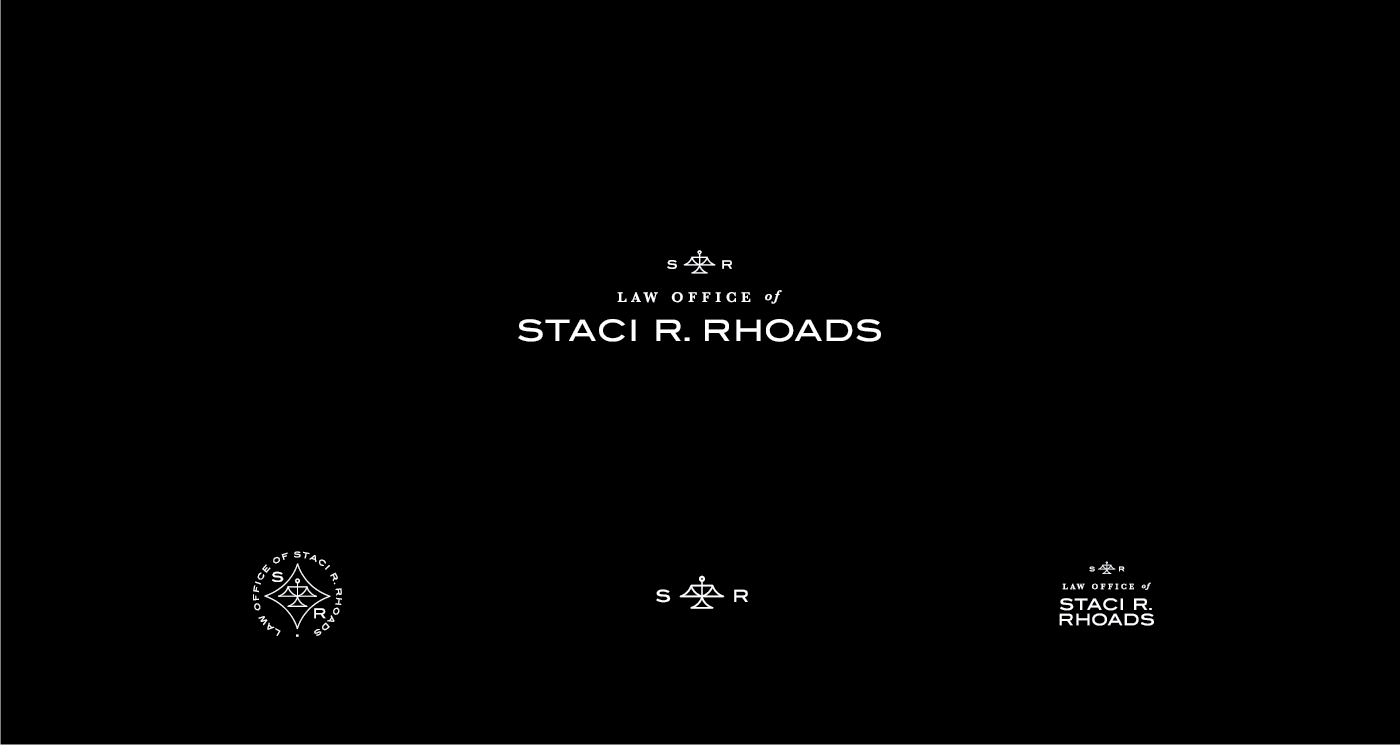 Law Office of Stacy R Rhoads Logo Design